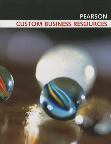 9780536646774: Custom Business Resources (Pearson Custom Business Resources)
