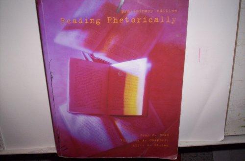 9780536668158: Reading Rhetorically