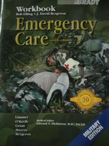 9780536668431: Emergency Care (9th Edition Workbook, Military Edition)