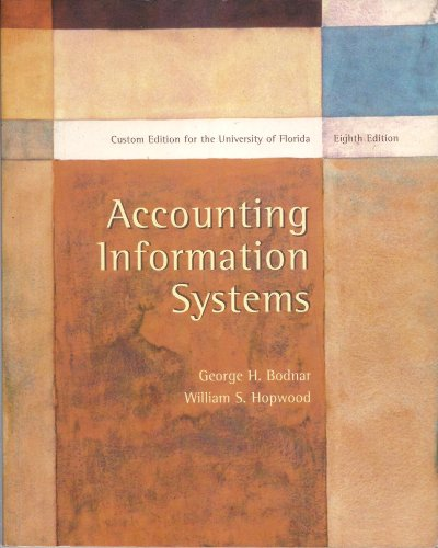 9780536670960: Accounting Information Systems