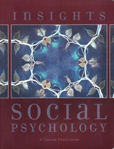 9780536678195: Insights Social Psychology