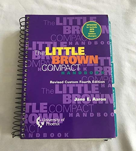 9780536681362: Little Brown Compact Handbook