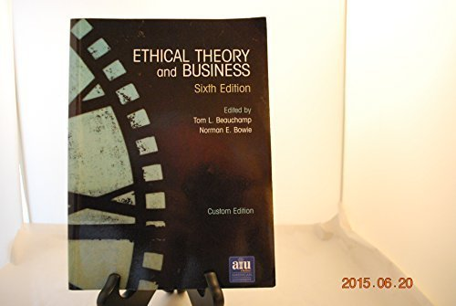 9780536685278: Ethical Theory and Business