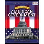 Magruder's American Government 2001 (0536686467) by William A. McClenaghan