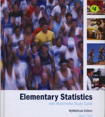 9780536695413: Elementary Statistics Custom Edition