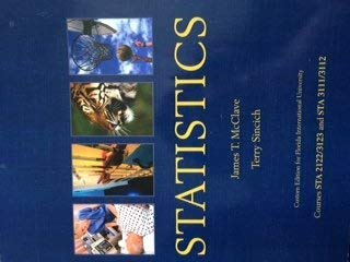STATISTICS >CUSTOM<: James T. McClave and Terry Sincich