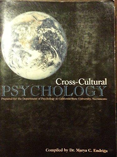 9780536700452: Cross-Cultural Psychology