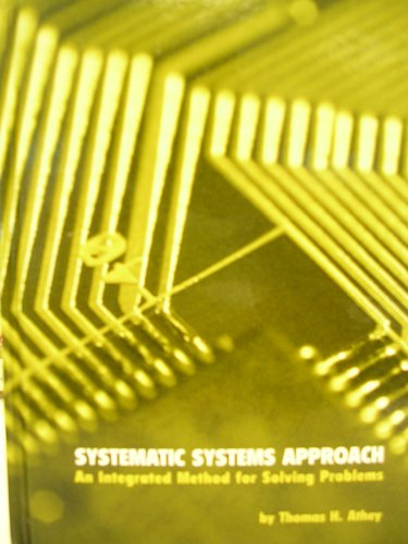9780536703033: Systematic Systems Approach: An Integrated Method for Solving Problems- Custom Edition