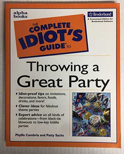 9780536706607: The Complete Idiot's Guide to Throwing a Great Party