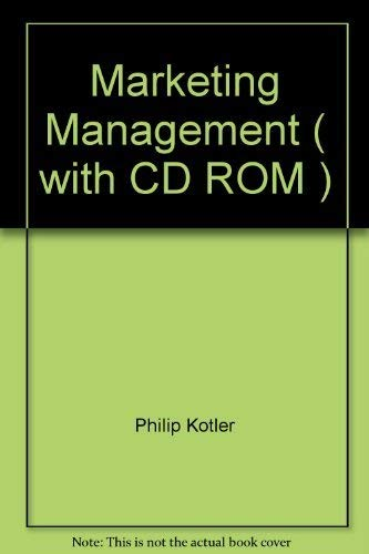 9780536707253: Marketing Management ( with CD ROM )