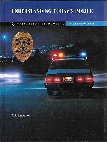 9780536708854: UNDERSTANDING TODAY'S POLICE (SPECIAL EDITION SERIES)