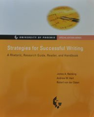 9780536720436: Strategies for Successful Writing