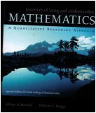 9780536722515: Essentials of Using and Understanding Mathematics: A Quantitative Reasoning Approach