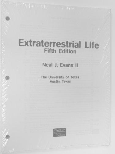 9780536723147: Extraterrestrial Life