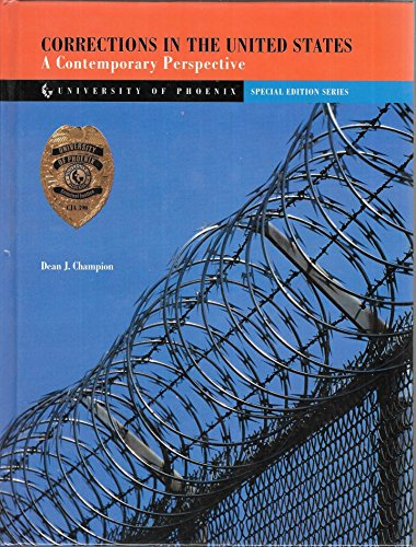 9780536726650: Corrections in the United States: A contemporary perspective