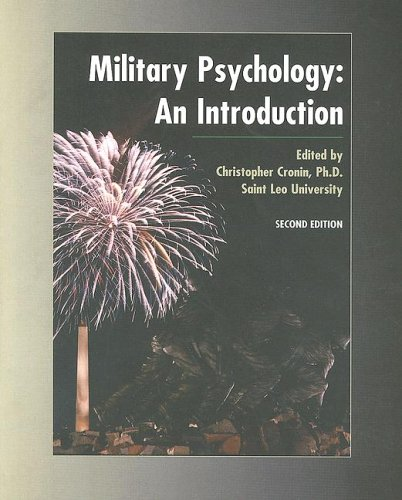 9780536728128: Military Psychology: An Introduction