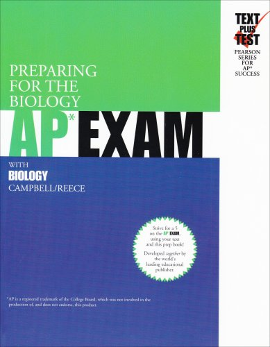 9780536731562: Preparing For The Biology AP EXAM: With Biology (Text Plus Test Pearson Series for Ap Success)