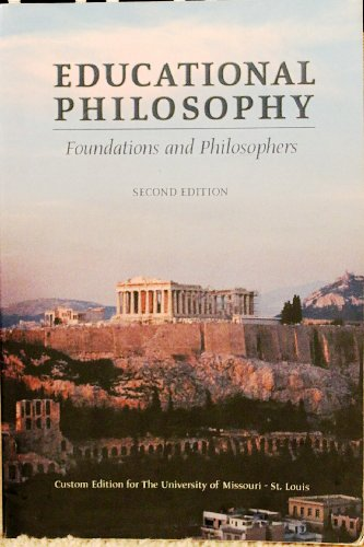 Educational Philosophy: Foundations and Philosophers: Reed, Ronald F.;