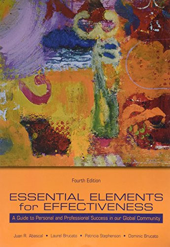9780536734044: Essential Elements for Effectiveness