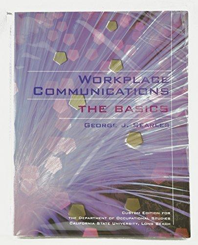 9780536734396: Workplace Communications the Basics