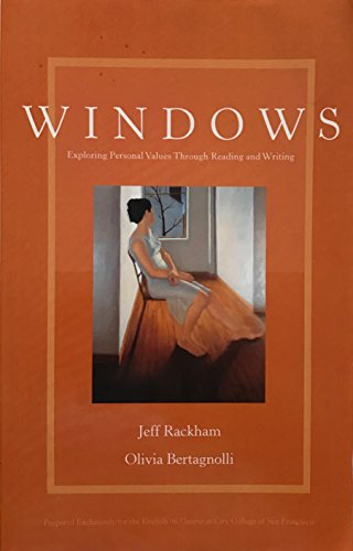 9780536737496: Windows: Exploring Personal Values Through Reading and Writing