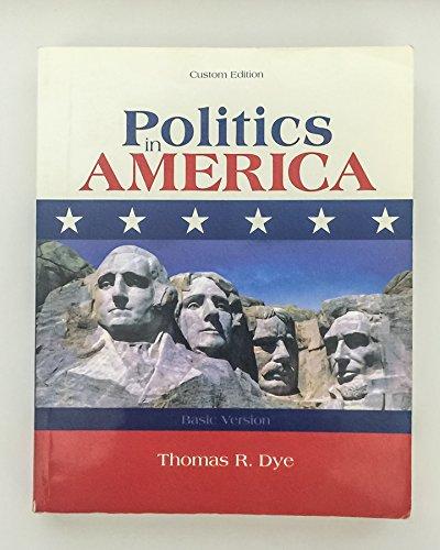 9780536737793: Politics in America California Version (Basic Version)