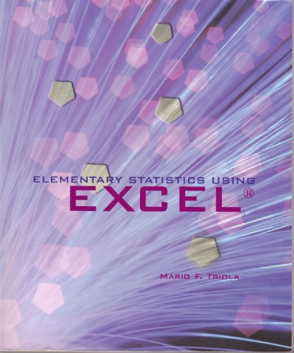 9780536740229: Elementary Statistics Using EXCEL