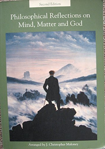 9780536746207: Philosophical Reflections on Mind, Matter and God