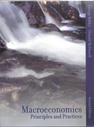 9780536748348: Macroeconomics Principles and Practices
