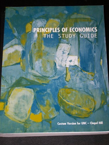 9780536750594: Principles of Economics (Custom version for UNC - Chapel Hill)