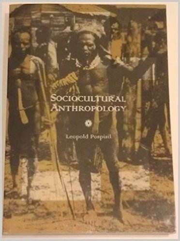 Sociocultural Anthropology: Pospisil, Leopold
