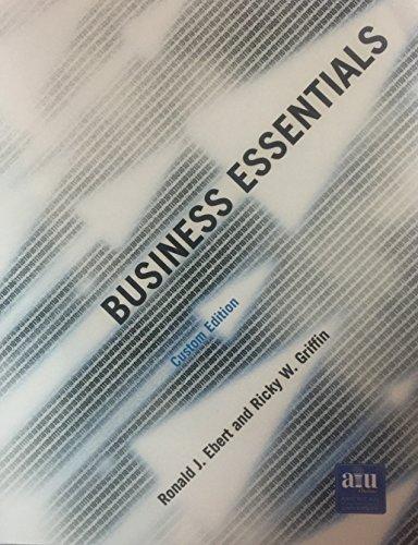 9780536753694: Business Essentials