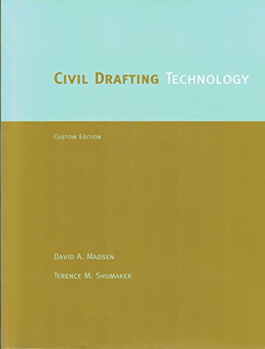 9780536758385: Civil Drafting Technology [Taschenbuch] by David Madsen