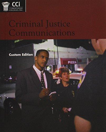 Criminal Justice Communications: Joseph A. DeVito