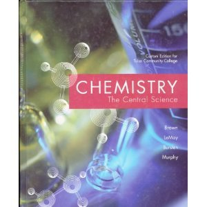 Chemistry the Central Science (Custom Edition for Tulsa Community College) (9780536781536) by Theodore L. Brown