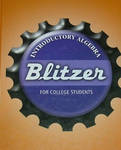 BLITZER Introductory Algebra for College Students: Robert Blitzer