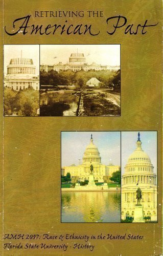 9780536788115: Retrieving the American Past (AMH 2097: Race & Ethnicity in the United States)