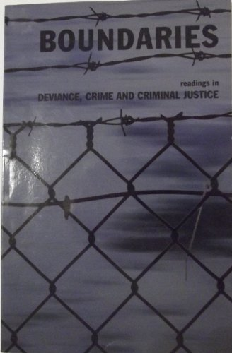 9780536793898: Boundaries: readings in Deviance, Crime and Criminal Justice (A Customized Reader)