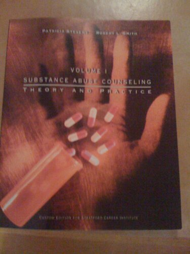 9780536822376: Substance Abuse Counseling, Theory and Practice, Vol. 1