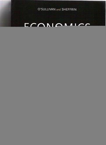 9780536824394: Economics (Principles and Tools Custom Edition)