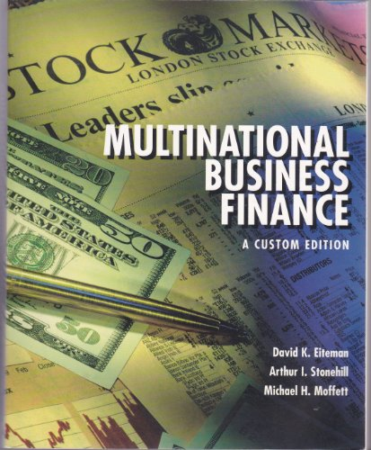 9780536824431: Multinational Business Finance