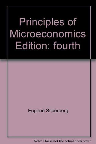 9780536831699: Principles of Microeconomics 4TH Edition