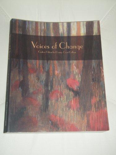 9780536833426: Voices of Change: custom edition for Orange Coast College