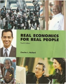9780536839404: Real Economics for Real People