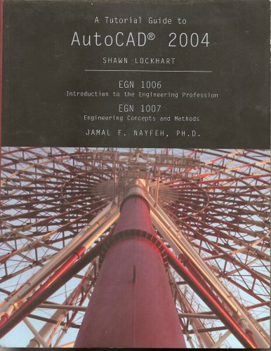9780536841018: A Tutorial Guide to Autocad 2004