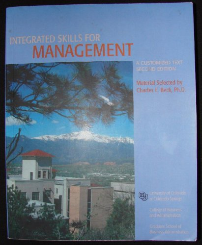 9780536843104: Integrated Skills for Management (A Customized Text)