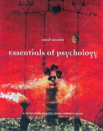9780536846457: Essentials of Psychology (A Custom Edition For Seattle Central Community College)