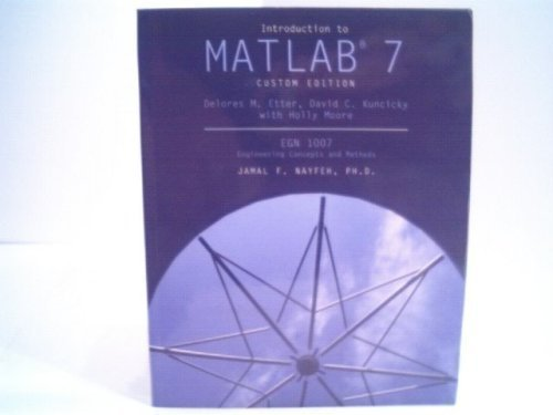 9780536858672: Introduction to Matlab 7 Custom Edition