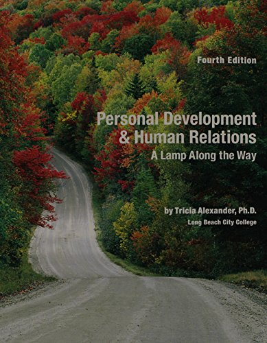 9780536861412: Personal Development & Human Relations: A Lamp Along The Way