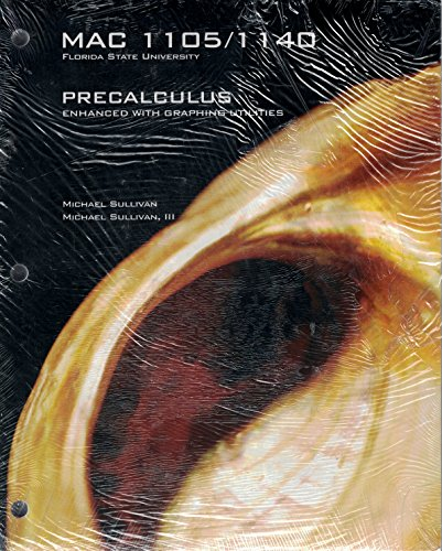9780536861436: Precalculus Enhanced With Graphing Utilities (Mac 1105/1140) Custom for Florida State University